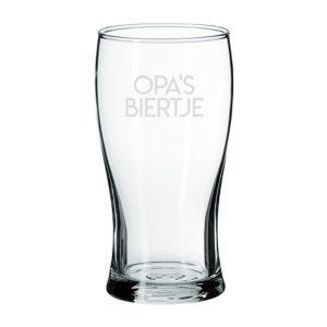 Bierglas Opa's Biertje