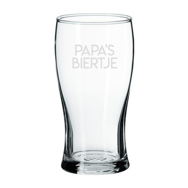 Bierglas Papa's Biertje