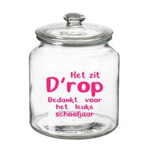 grote Snoeppot Het zit Drop Schooljaar