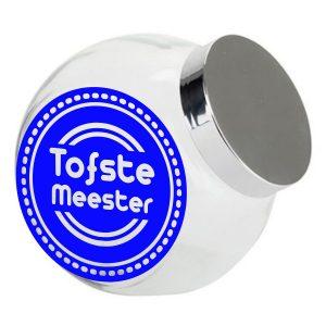 Snoeppotje Tofste Meester