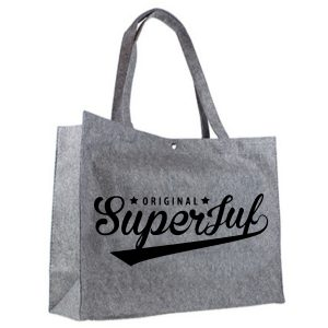 Vilten shopper original superjuf zwart