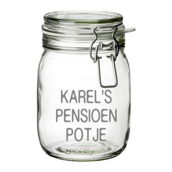 snoeppot Pensioen Potje
