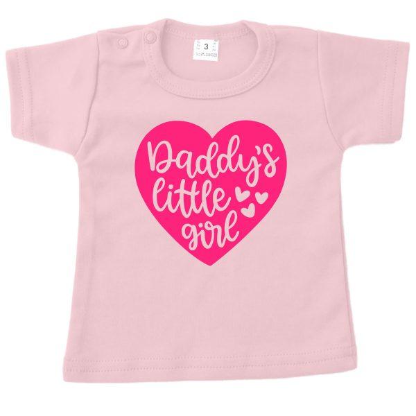 Shirt Daddy's Little Girl roze