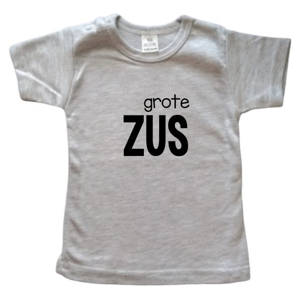 Shirt Grote Zus grijs