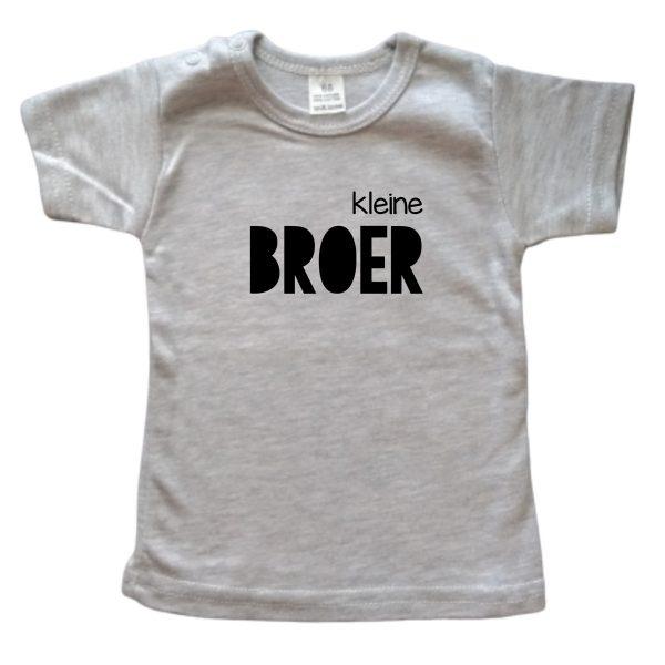 Shirt Kleine Broer grijs
