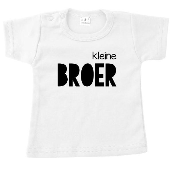 Shirt Kleine Broer wit
