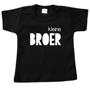 Shirt Kleine Broer zwart