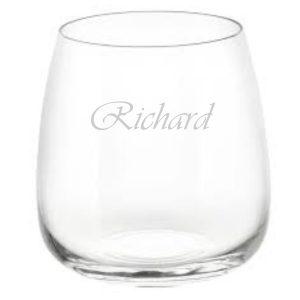 whiskeyglas met naam