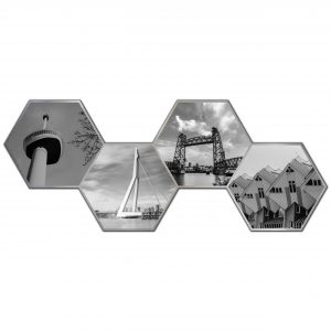 Hexagon collage rotterdam 2