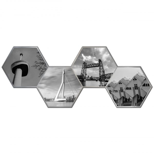 Hexagon collage rotterdam 2