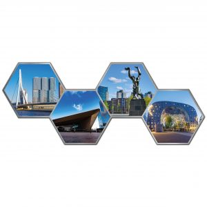 Hexagon collage rotterdam 3