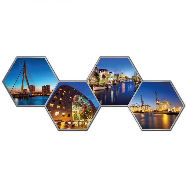 Hexagon collage rotterdam 4