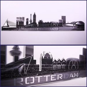 Skyline Rotterdam Alumium Feyenoord