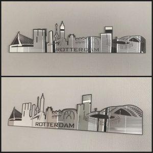 Skyline Rotterdam Spiegel