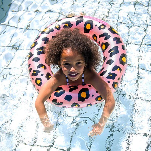Zwemband Roze Panter 70cm 2