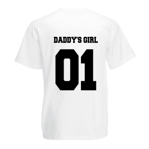 T-shirt Daddy's Girl girl wit