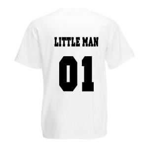 T-shirt Little Man wit