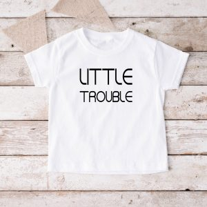 T-shirt Little Trouble wit