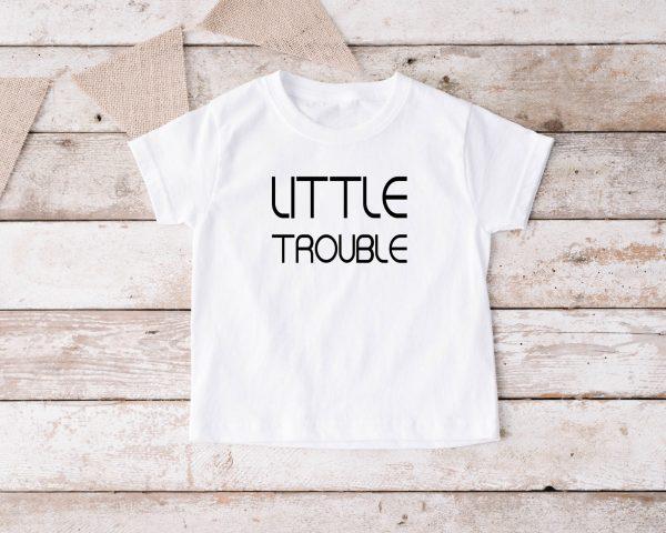 T-shirt Little Trouble wit