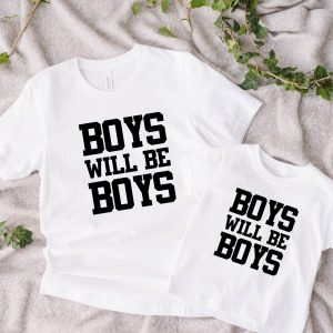 Twinning Boys will be Boys wit