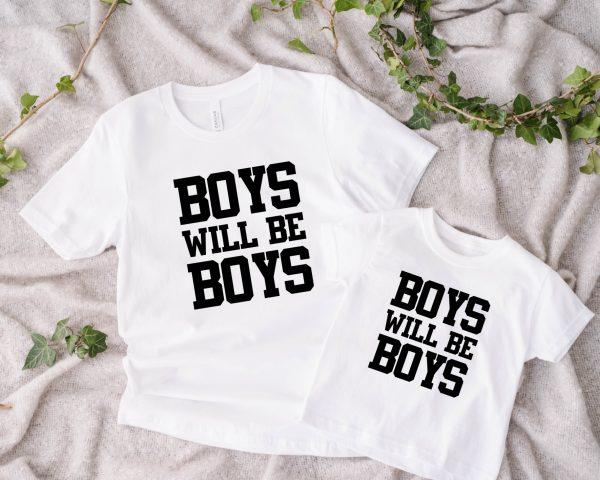 Twinning Boys will be Boys wit