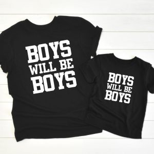 Twinning Boys will be Boys zwart
