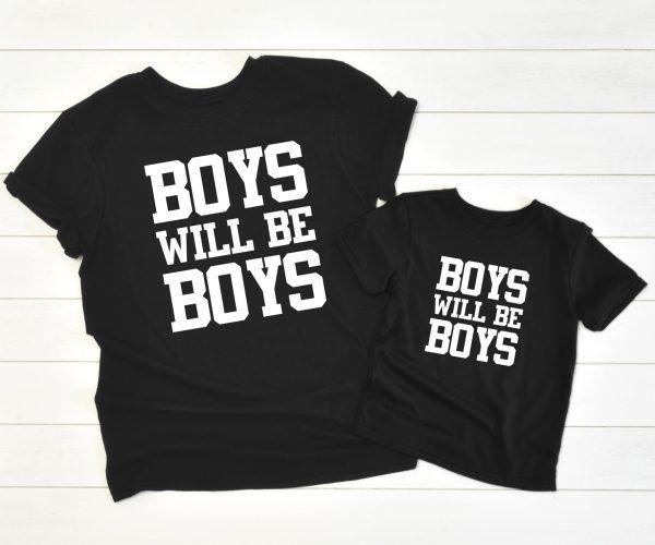 Twinning Boys will be Boys zwart