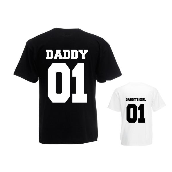 Twinning Daddy's Girl zwart wit